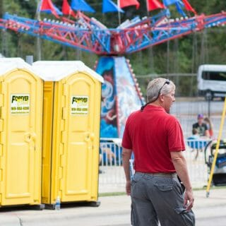 special event portable restrooms in fair