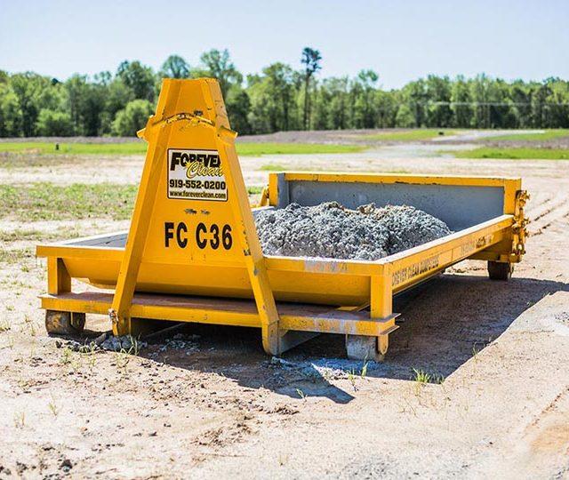 Concrete Washout Dumpster, Save Money, Make Your Job Easier