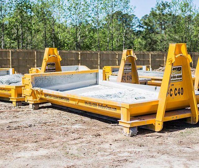 Concrete Washout Dumpster, Happy Client, Happy Business