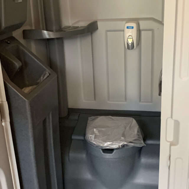 portable flushable toilet rentals in Raleigh, NC
